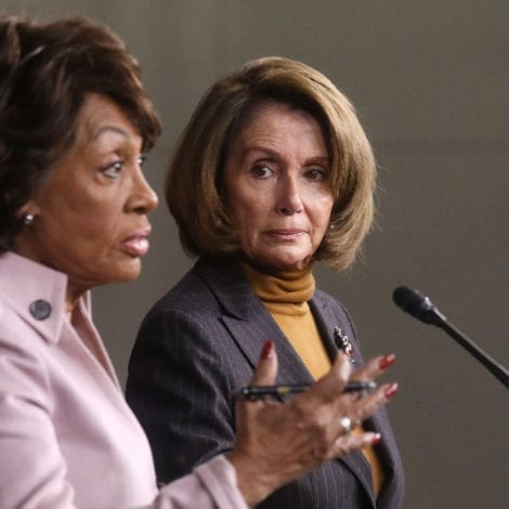 DOUBLE TROUBLE: Pelosi Says Waters 'STRIKES FEAR IN THE HEART' of President Trump