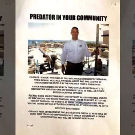 LIBERAL RAGE: Florida Landowner Labeled 'PREDATOR' for Renting Offices to ICE