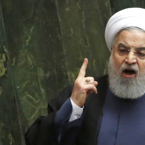 TEHRAN'S TANTRUM: Iranian President TRASHES TRUMP, Blames US for 'RECESSION'