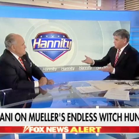 RUDY ON HANNITY: Mueller's Russia Probe is 'READY TO BLOW'