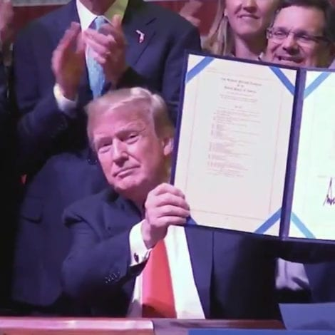 AMERICA FIRST: President Trump Unveils New 'Pledge to America's Workers'