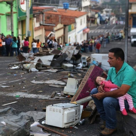 PARADISE LOST: Venezuela's Socialist President Tells Starving Residents to 'STOP WHINING'