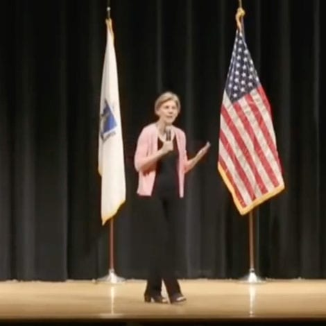 FIREWORKS: Sen. Warren ROASTED at Town Hall for Saying Justice System COMPLETELY 'RACIST'