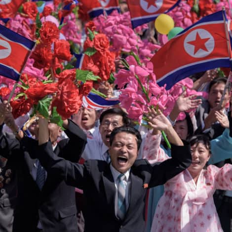 PEACE IN KOREA? Kim Ditches WARHEADS for FLOWERS in Recent Military Parade