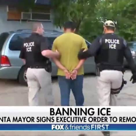 ATLANTA ANARCHY: Mayor BANS ICE, Orders ALL DETAINEES Removed from City Prisons