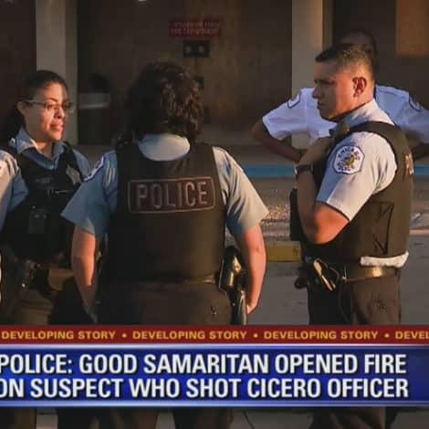 GOOD GUY WITH A GUN: Licensed Gun Owner 'Aids Injured Cop' in Chicago Shootout