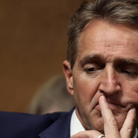 BREAKING: Sen. Jeff Flake to 'Vote Yes' on Judge Brett Kavanaugh