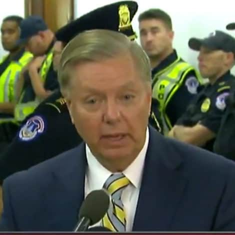 GRAHAM SPEAKS: Sen. Lindsey Graham Weighs-in on Flake's Call for FBI Probe