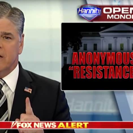 HANNITY: Anonymous Op-Ed Writer Needs to 'COME FORWARD' Now