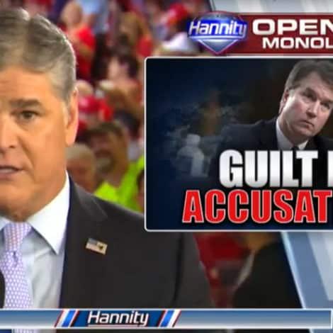 HANNITY: Democrats Have Already Convicted Brett Kavanaugh