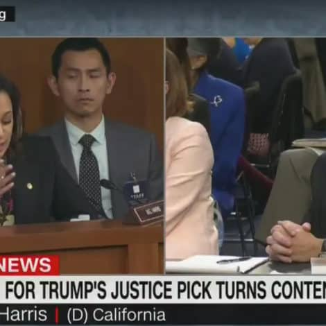 HARRIS GOES NUCLEAR: Kamala 'Concerned' Kavanaugh More Loyal to TRUMP than US CONSTITUTION
