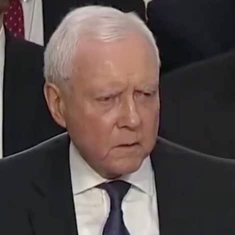 ORRIN UNLEASHED: Sen. Hatch BLASTS 'LOUDMOUTH' Protester at Kavanaugh Hearing