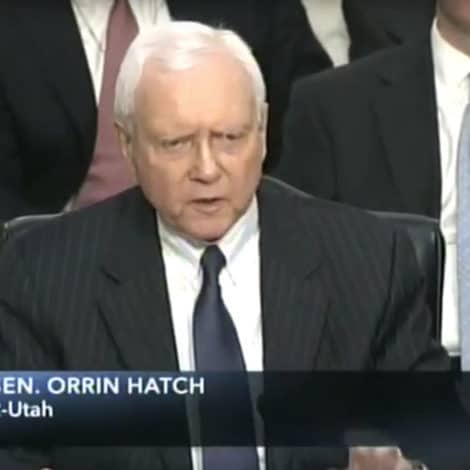HATCH UNLOADS: The GOP Senator Says 'SICK' People Turning Confirmation into a 'CIRCUS'