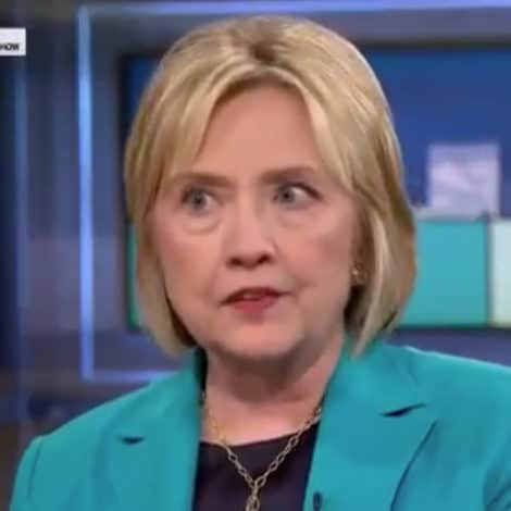 THE RESISTANCE: Hillary Says There are 'PRIVATE CONVERSATIONS' about Invoking 25th Amendment
