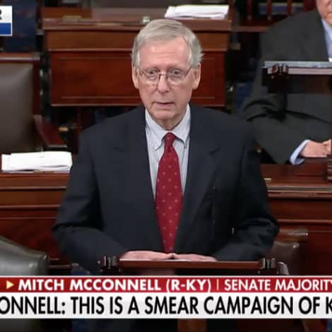 McCONNELL: 'Senate Democrats Trying to Destroy Kavanaugh's Life'