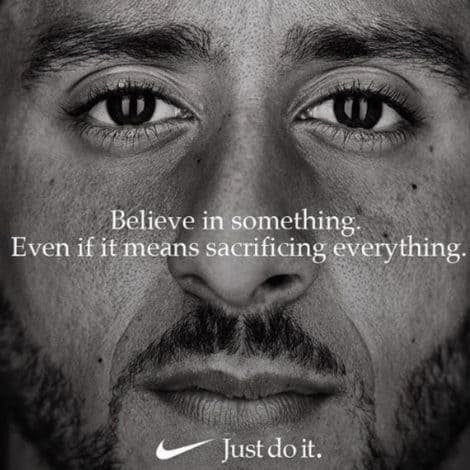 SHOCK POLL: Nike's Brand Favorability PLUNGES 34 POINTS Following Kaepernick Ad