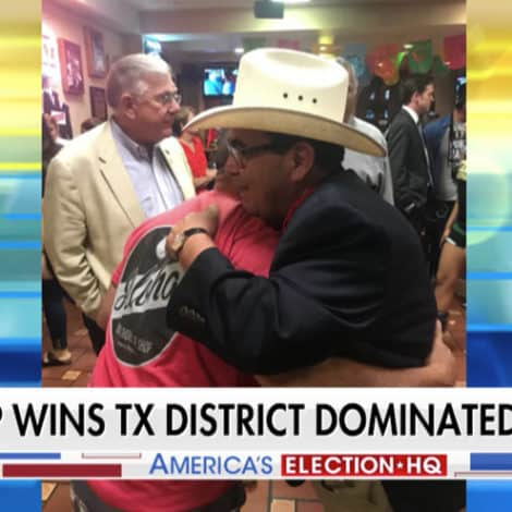 BLUE WAVE? GOP Wins Texas Seat Held by Democrats for 139 YEARS, Hillary Won District by 12%