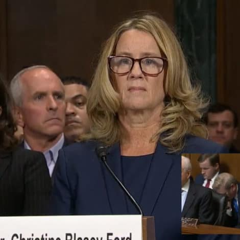 WATCH LIVE: Dr. Christine Ford, Judge Kavanaugh Testify Before Congress