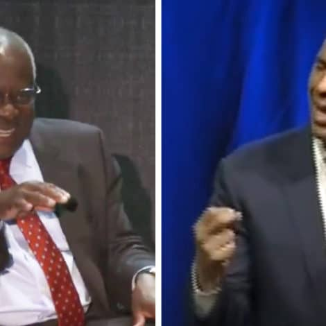 SUPREME SMACKDOWN: Clarence Thomas MOCKS Cory Booker's 'SPARTICUS' Moment