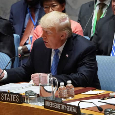 TRUMP AT UN: Expect 'New Mideast Peace Plan' Within Four Months