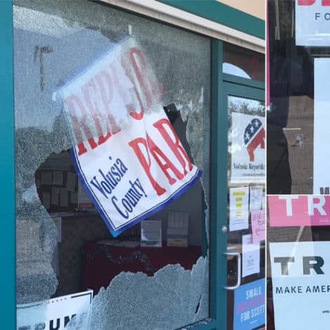 RAGE: Shots Fired into Republican Party Offices in Florida, No Injuries Reported