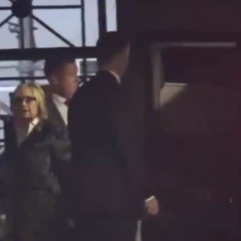BAD OMEN: Clinton's SUV Smashes into Wall During Event for Sen. Bob Menendez