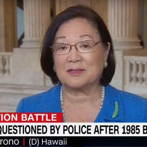 SEN. HIRONO: FBI Must Investigate Kavanaugh 'Ice Throwing' Incident from 1980s