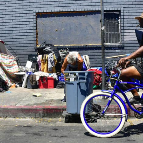 THE BLAME GAME: LA Mayor Says DC Responsible for California's Homeless Crisis