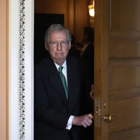 UPDATE: McConnell Says GOP Won't be 'Intimidated' By Left-Wing Protesters