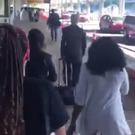 WATCH: Sen. Rand Paul Confronted by Anti-Kavanaugh Activists at DC Airport