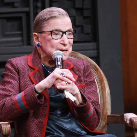 SUPREME SMACKDOWN: Ruth Bader Ginsburg Says 'Congress' to Blame for Kavanaugh Debacle