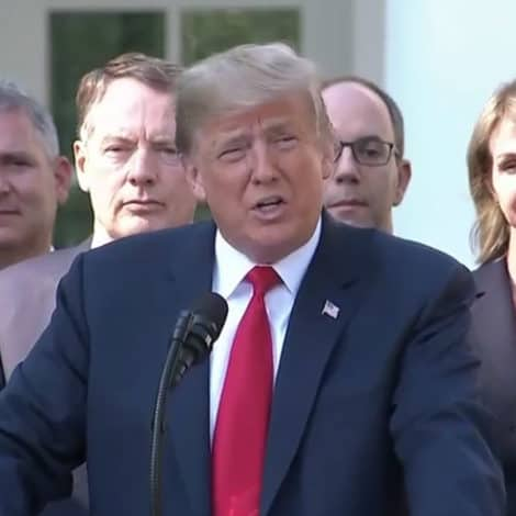 PROMISE KEPT: President Trump Says New Trade Deal Will 'Protect' American Workers