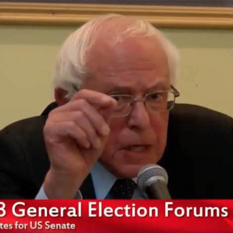 BERNIE 2020? Sanders Says He 'MAY RUN' Against Donald Trump in 2020