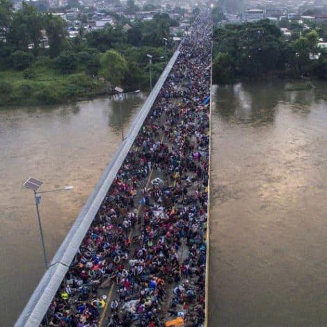 CARAVAN CRISIS: Migrant Caravan Swells to 14,000, Heads Towards USA