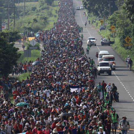 CARAVAN CHAOS: Migrant Caravan Swells to 7,000, Trump to CUT AID