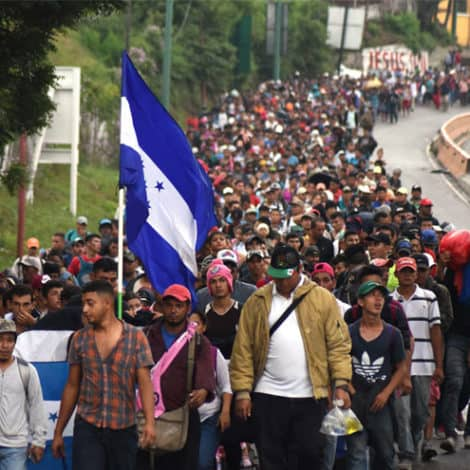 ON THE MOVE: 'Migrant Caravan' Ignores Trump's Warning, Heads Towards USA