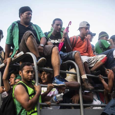 CARAVAN CRISIS: Trump Considers Executive Order to 'HALT ENTRY' for 'Migrant Caravan'