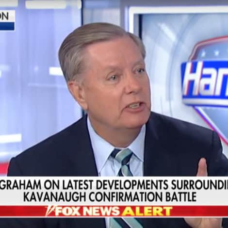 GRAHAM ON HANNITY: What the Left is Doing to Kavanaugh 'Cannot Stand'