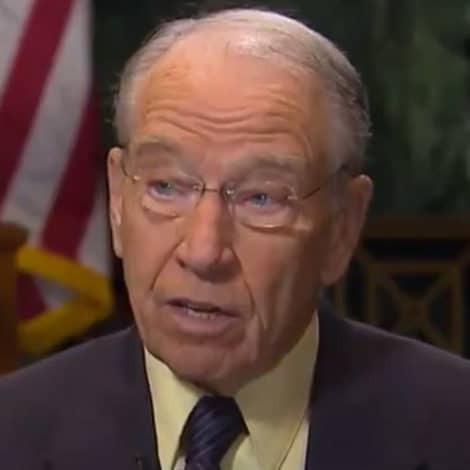 GRASSLEY: Dems Were 'Digging' for Kavanaugh Dirt on the 'Day of the Vote'