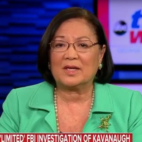 SEN. HIRONO: FBI's Kavanaugh Probe is 'Not What We Were Expecting'