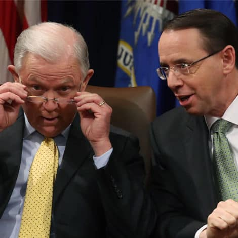 JARRETT: Sessions and Rosenstein Need to Leave DOJ After Midterms