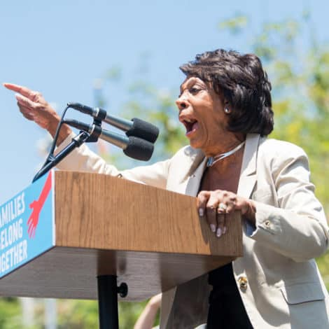 MAD MAXINE: Waters Calls Trump 'Poster Boy' for 'Mob' Violence