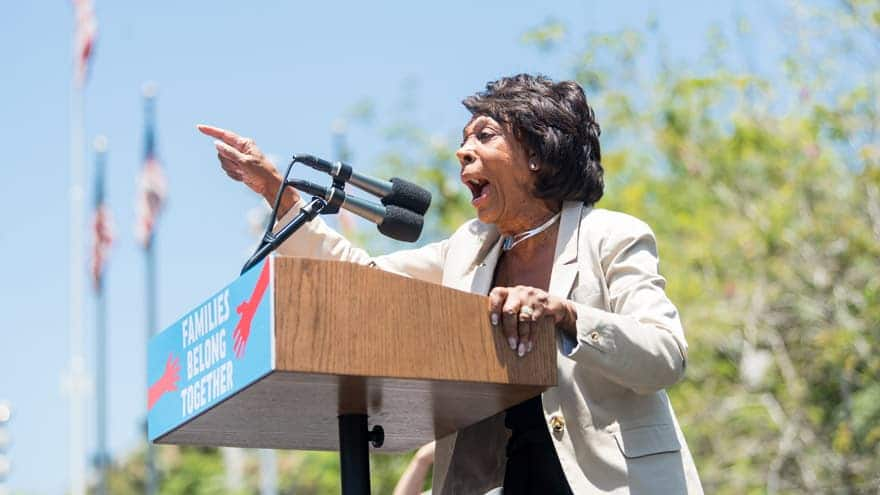 Partner Content - MAXINE MELTDOWN: Rep. Waters SIDES WITH IRAN, Says US Drone Violated Tehran's Airspace