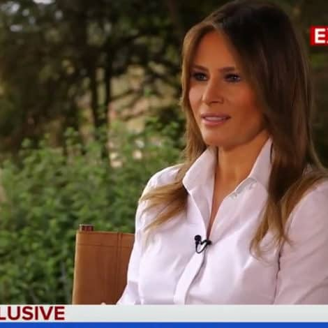 MELANIA ON #MeTOO: I Stand with Women, but 'We Need Evidence'