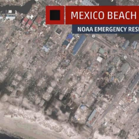 LIKE A NUCLEAR STRIKE: Sections of Florida Panhandle 'DESTROYED' by Hurricane Michael