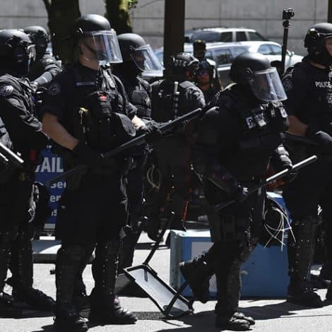 ANARCHY IN OREGON: Antifa Attacks Rock Portland, Riot Police Dispatched