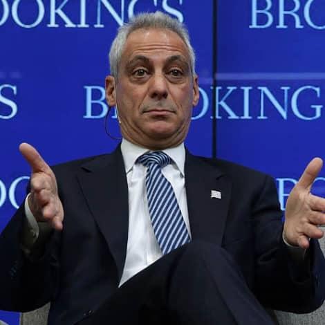 RAHM RIPS TRUMP: Chicago Mayor Slams the President for Birthright 'Election Nonsense'