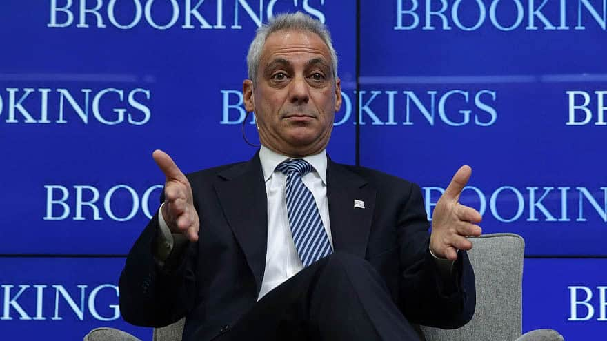 image for RAHM RIPS BERNIE: Emanuel Says Sanders Entire Candidacy 'Built on a Fals...
