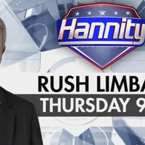 HANNITY EXCLUSIVE: Don't Miss RUSH LIMBAUGH on 'Hannity' THURSDAY NIGHT 9PM