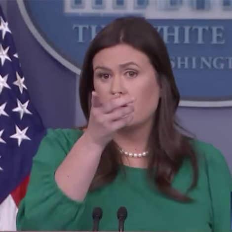 SARAH SHOWDOWN: Huckabee Sanders UNLOADS on CNN's Jim Acosta Over 'Pipe Bombs'